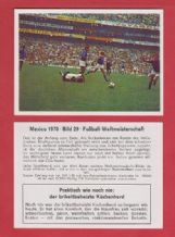 West Germany v Peru Franz Beckenbauer 29